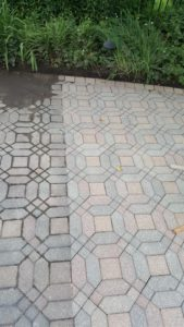 Repair – clean – seal existing pavers