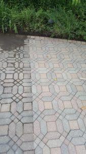 Repair – clean – seal existing pavers