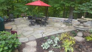 Bluestone walks and patios