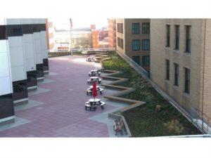 Macy's Roof Deck Pedestal Pavers
